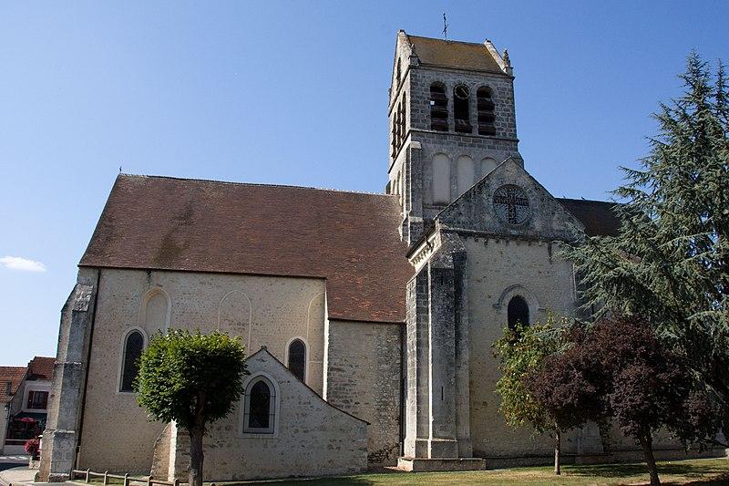 Photo du Monument Historique Eglise situé à Boutigny-sur-Essonne