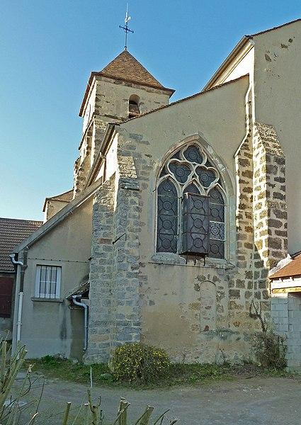 Photo du Monument Historique Eglise Saint-Pierre situé à Brétigny-sur-Orge
