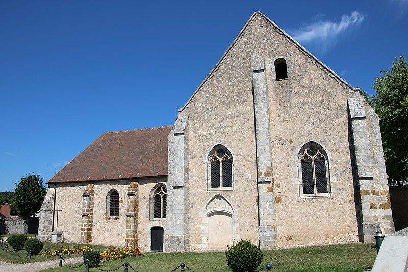 Photo du Monument Historique Eglise Saint-Quentin situé à Brières-les-Scellés