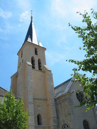 Photo du Monument Historique Eglise Saint-Médard situé à Brunoy