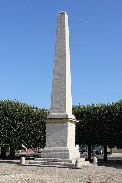 Photo du Monument Historique Obélisque situé à Brunoy