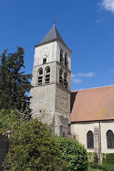 Photo du Monument Historique Eglise situé à Cerny