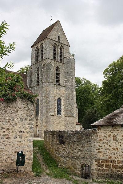 Photo du Monument Historique Eglise Saint-Quentin situé à Chamarande