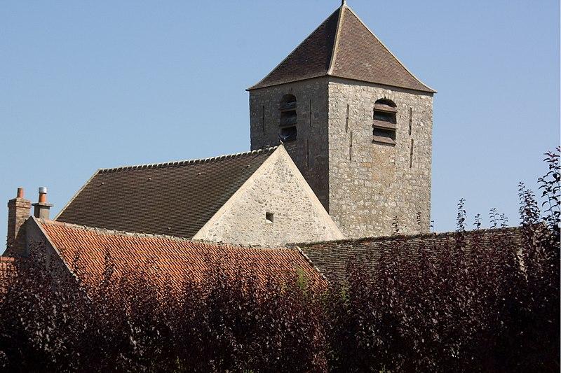 Photo du Monument Historique Eglise Saint-Gervais Saint-Protais situé à Courdimanche-sur-Essonne