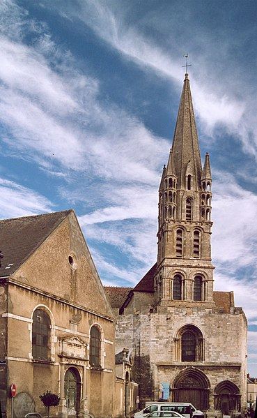 Photo du Monument Historique Eglise Notre-Dame situé à Etampes