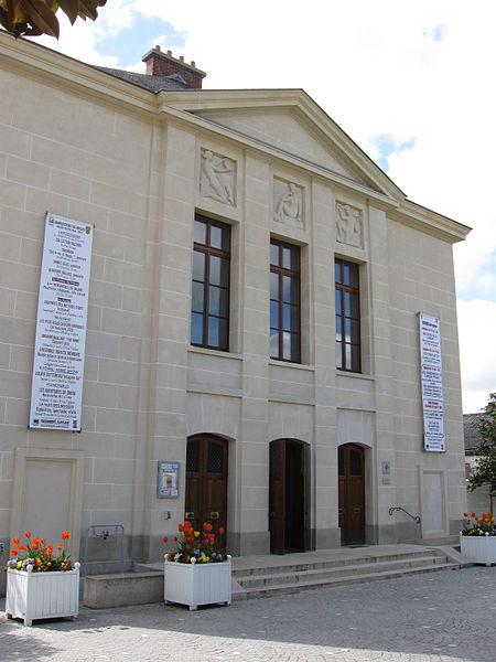 Photo du Monument Historique Théâtre municipal situé à Etampes