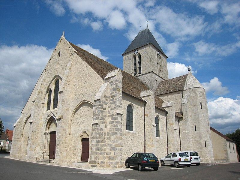 Photo du Monument Historique Eglise Saint-Etienne situé à Etréchy