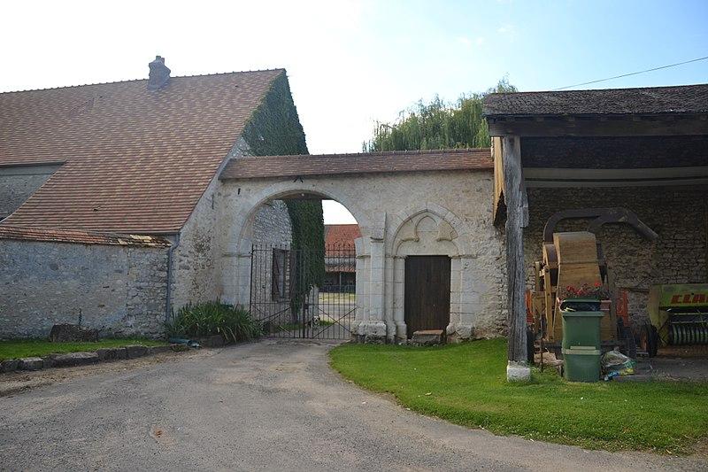 Photo du Monument Historique Ferme du Touchet situé à Etréchy