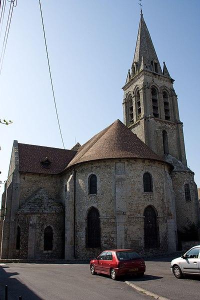 Photo du Monument Historique Eglise Notre-Dame situé à La Ferté-Alais