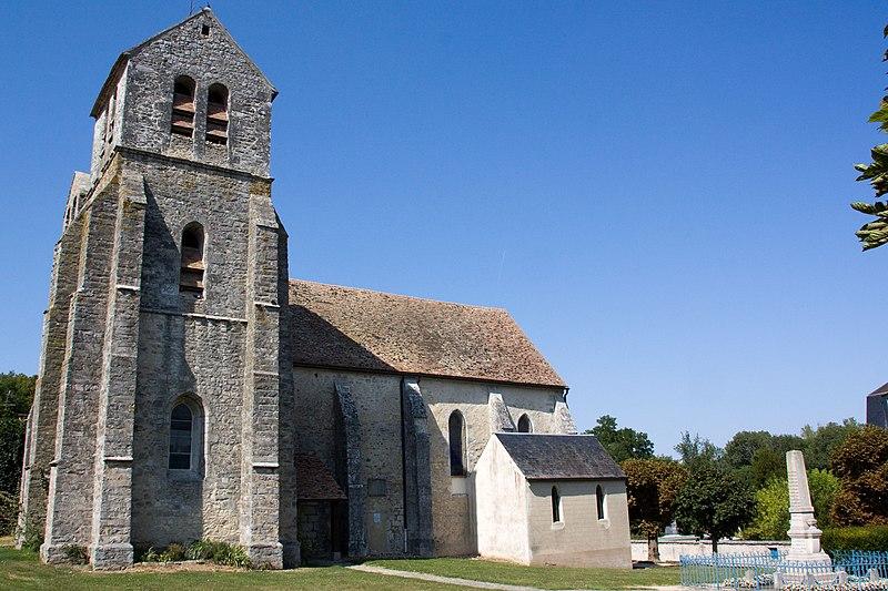 Photo du Monument Historique Eglise Saint-Pierre situé à Gironville-sur-Essonne