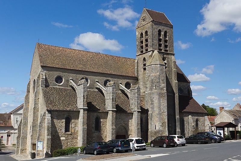 Photo du Monument Historique Eglise Saint-Germain-de-Paris situé à Itteville