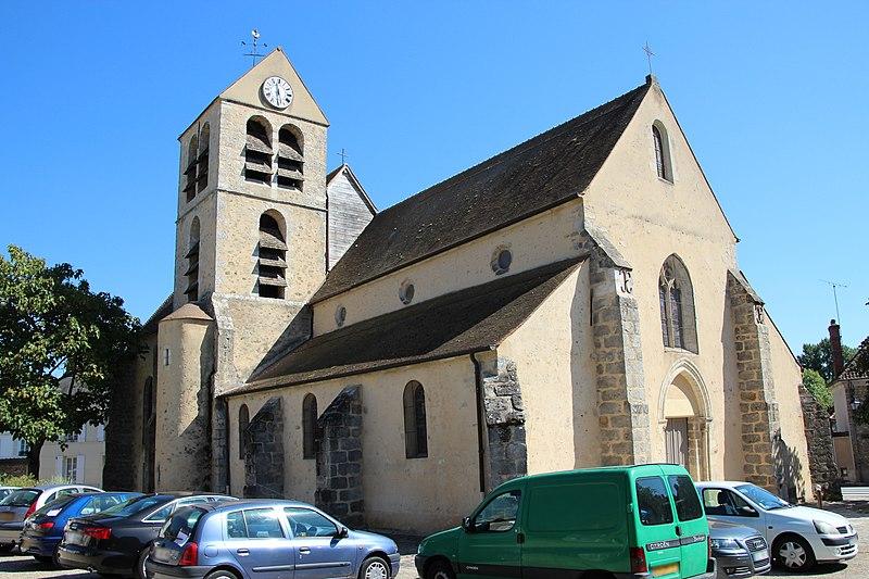 Photo du Monument Historique Eglise situé à Lardy