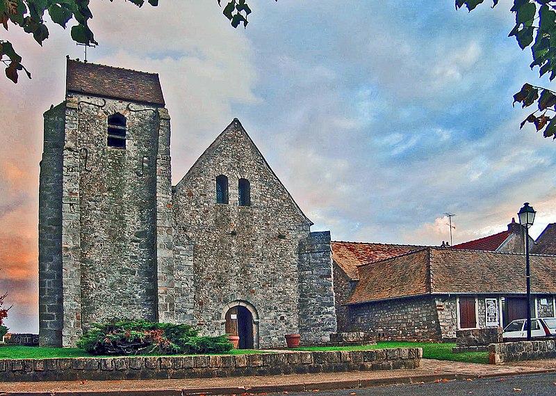 Photo du Monument Historique Eglise Saint-Jean-Baptiste situé à Mauchamps