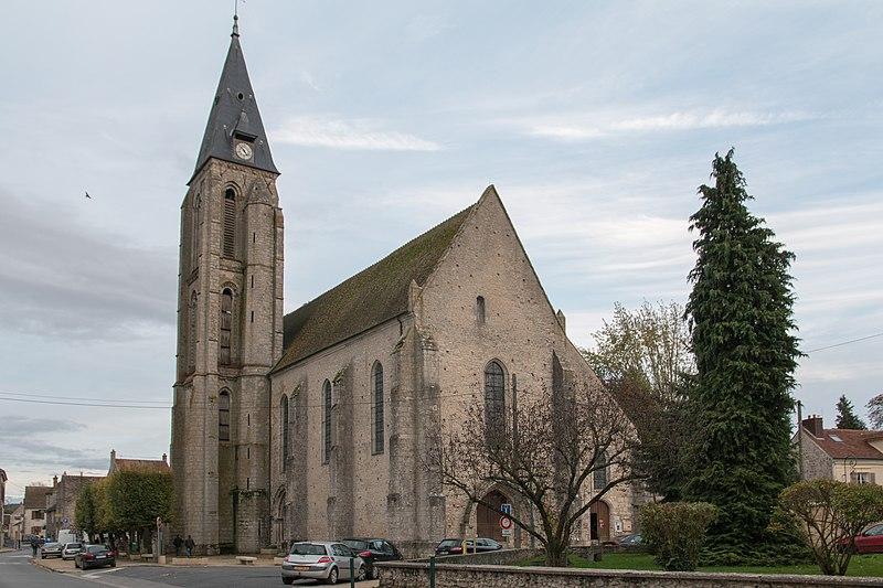 Photo du Monument Historique Eglise situé à Milly-la-Forêt