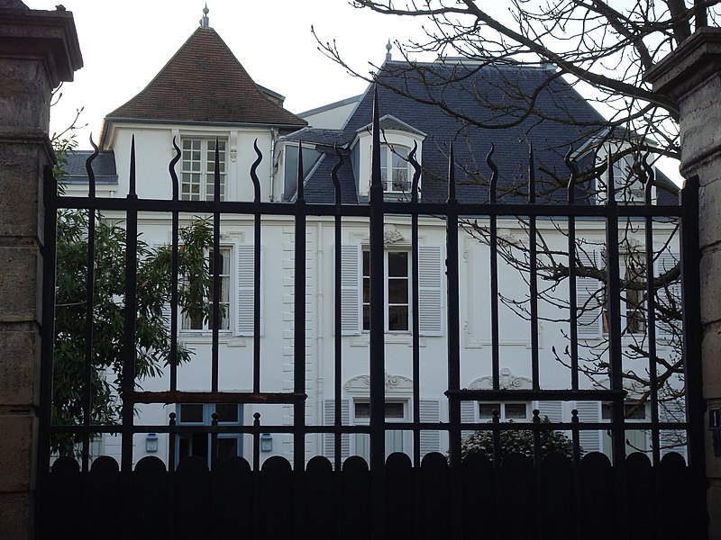 Photo du Monument Historique Propriété dite Le Moustier situé à Montgeron