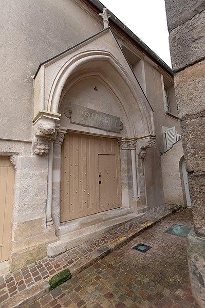 Photo du Monument Historique Hôtel-Dieu situé à Montlhéry