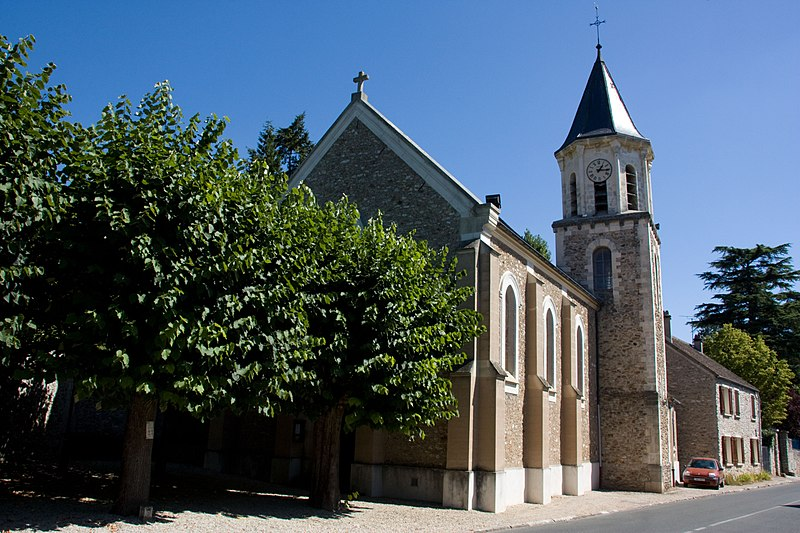 Photo du Monument Historique Eglise situé à Morsang-sur-Seine