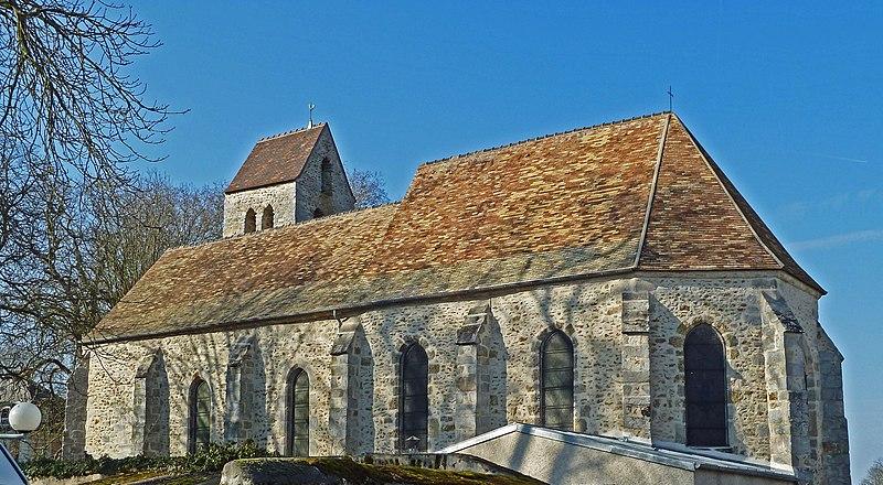 Photo du Monument Historique Eglise Saint-Denis situé à La Norville