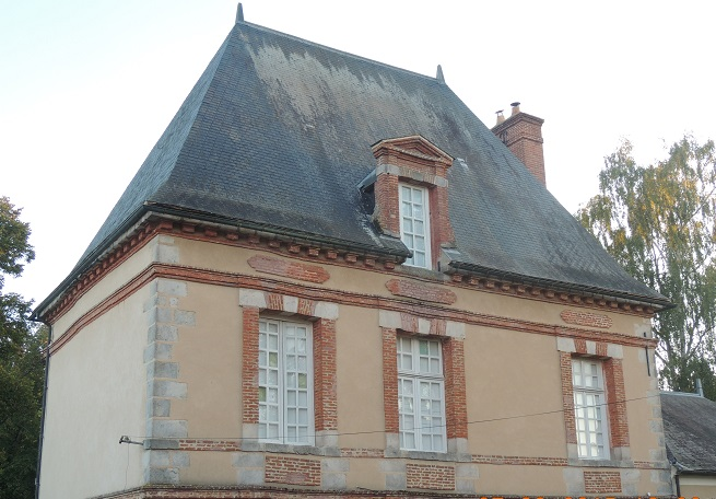 Photo du Monument Historique Château situé à Roinville