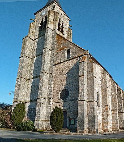 Photo du Monument Historique Eglise Saint-Cyr situé à Saint-Cyr-sous-Dourdan