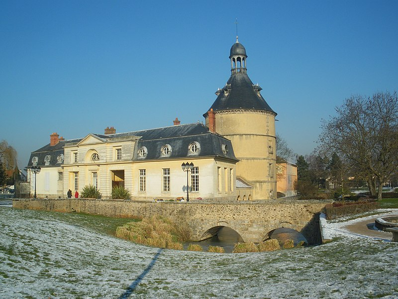 Photo du Monument Historique Château situé à Sainte-Geneviève-des-Bois