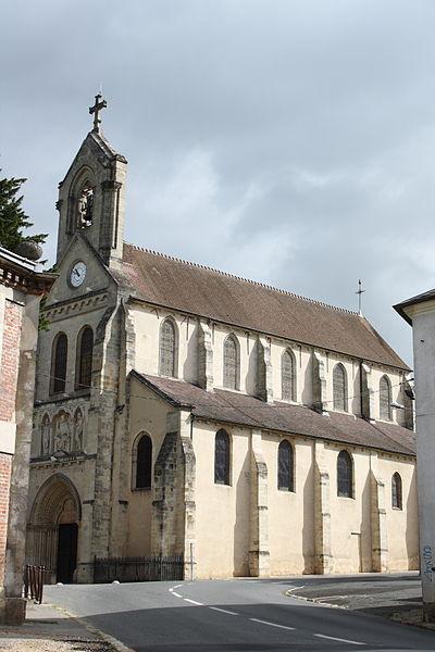 Photo du Monument Historique Eglise situé à Saint-Germain-lès-Arpajon