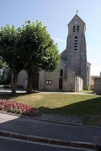 Photo du Monument Historique Eglise situé à Soisy-sur-Ecole