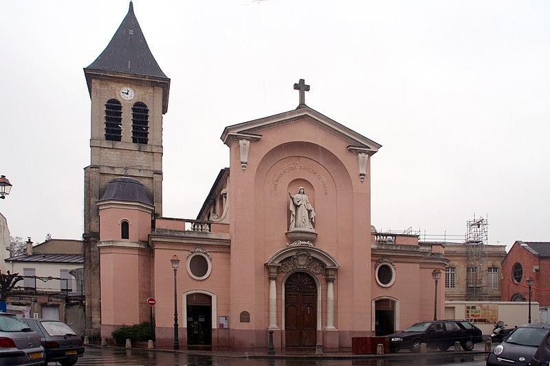 Photo du Monument Historique Eglise Sainte-Geneviève situé à Asnières-sur-Seine