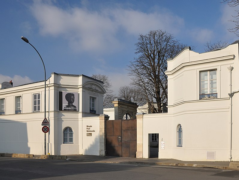 Photo du Monument Historique Château de Buchillot situé à Boulogne-Billancourt