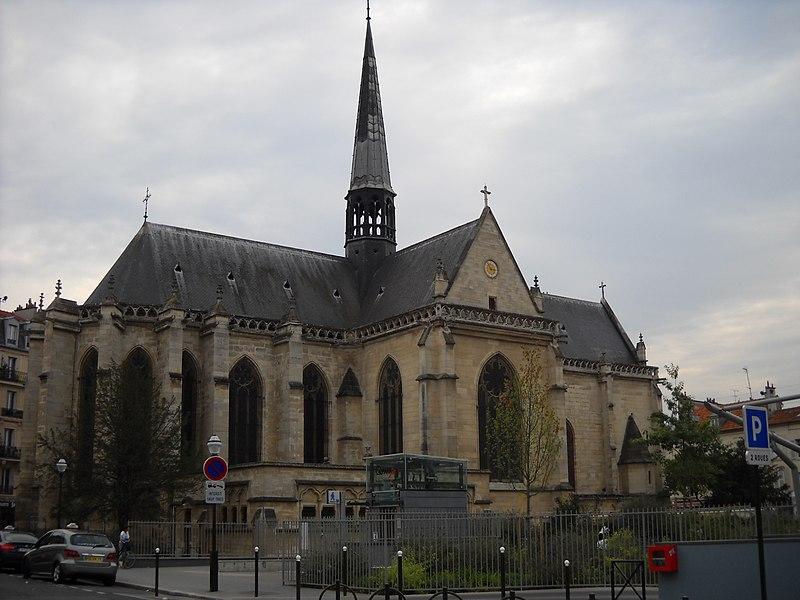 Photo du Monument Historique Eglise Notre-Dame-des-Menus situé à Boulogne-Billancourt