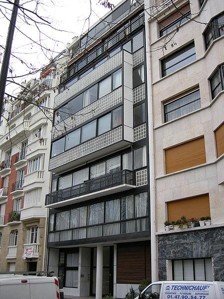 Photo du Monument Historique Immeuble situé à Boulogne-Billancourt