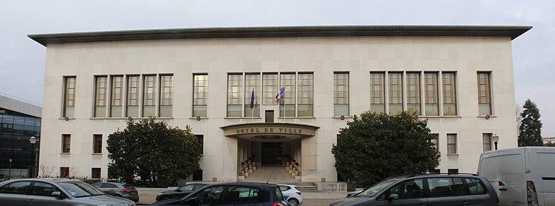 Photo du Monument Historique Hôtel de ville situé à Boulogne-Billancourt