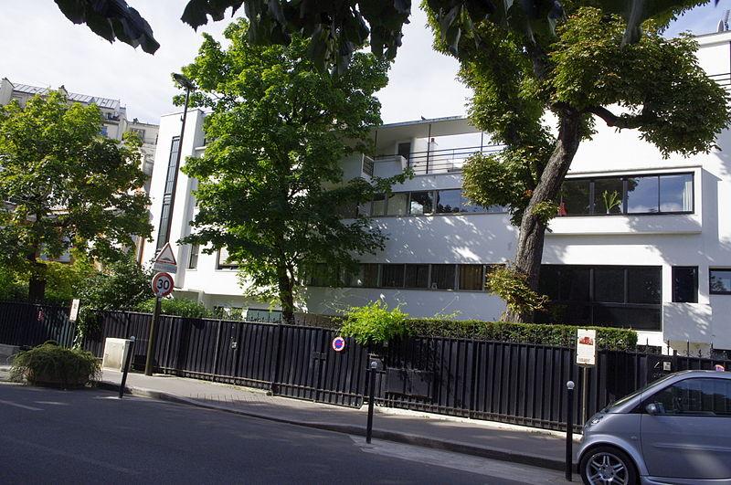 Photo du Monument Historique Maison Cook situé à Boulogne-Billancourt