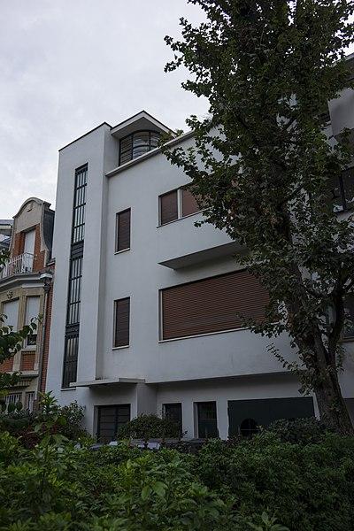 Photo du Monument Historique Maison Collinet situé à Boulogne-Billancourt