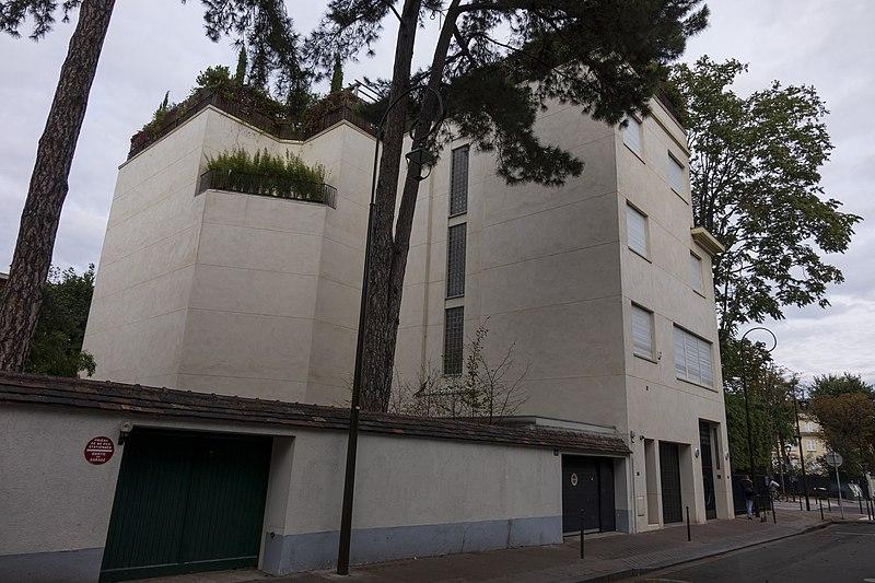 Photo du Monument Historique Maison situé à Boulogne-Billancourt