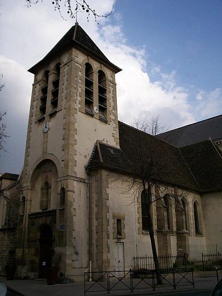 Photo du Monument Historique Eglise Saint-Médard situé à Clichy