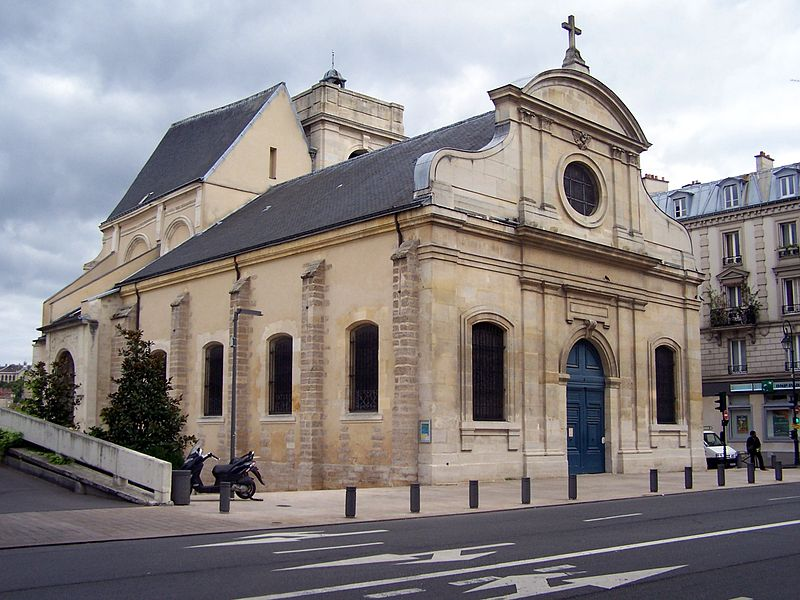 Photo du Monument Historique Eglise Saint-Martin situé à Meudon