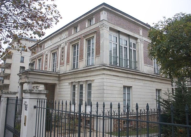 Photo du Monument Historique Hôtel Thouret situé à Neuilly-sur-Seine
