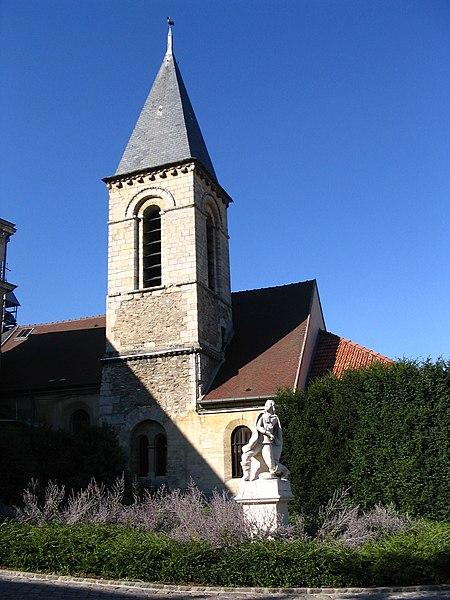 Photo du Monument Historique Eglise situé à Le Plessis-Robinson