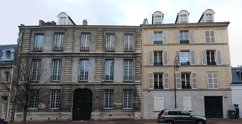Photo du Monument Historique Hôtel situé à Saint-Cloud