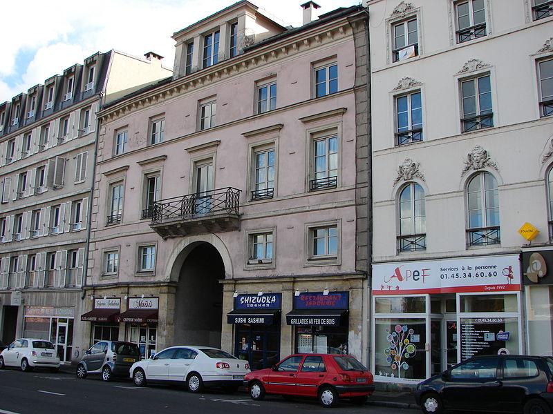 Photo du Monument Historique Immeuble situé à Sèvres