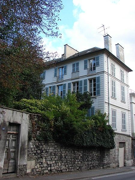 Photo du Monument Historique Maison Gravant situé à Sèvres