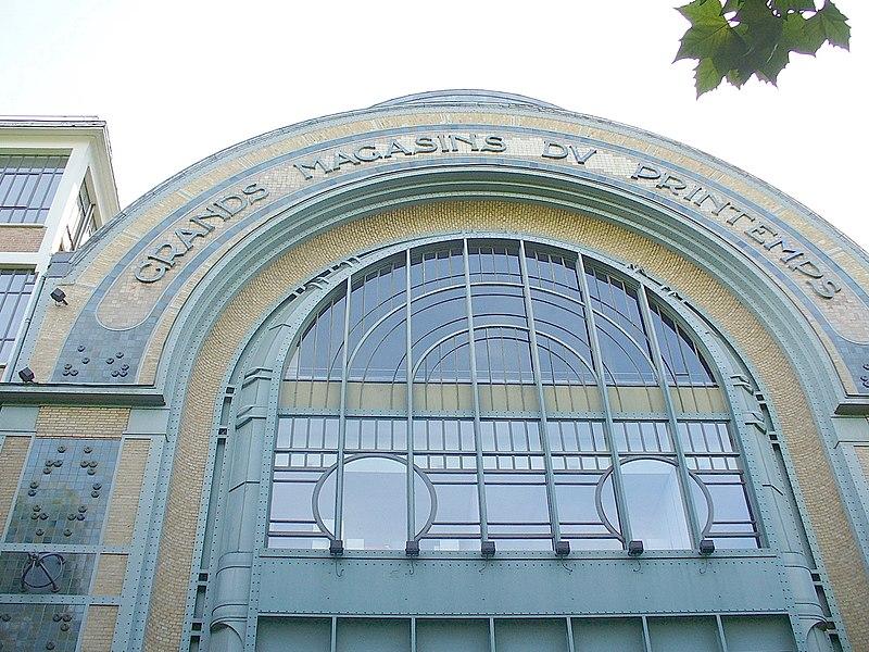 Photo du Monument Historique Entrepôts du Printemps situé à Clichy