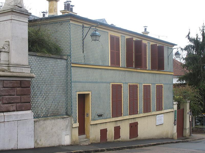 Photo du Monument Historique Maison des Jardies ou Maison de Gambetta situé à Sèvres