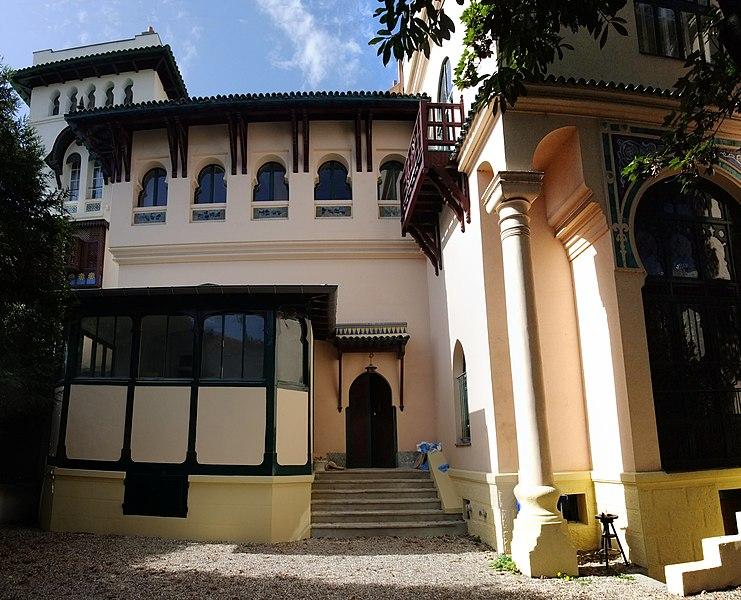 Photo du Monument Historique Villa mauresque situé à Levallois-Perret