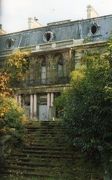 Photo du Monument Historique Château Rothschild situé à Boulogne-Billancourt