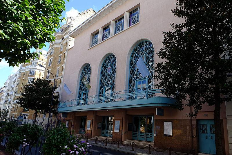 Photo du Monument Historique Palais des Arts et des Congrès situé à Issy-les-Moulineaux