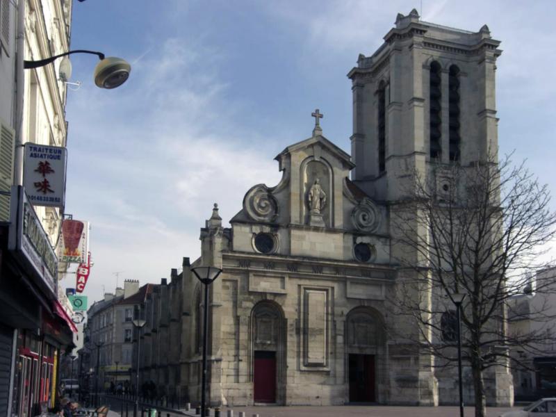 Photo du Monument Historique Eglise Notre-Dame-des-Vertus situé à Aubervilliers
