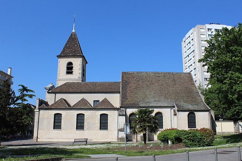 Photo du Monument Historique Eglise Saint-Leu-Saint-Gilles situé à Bagnolet