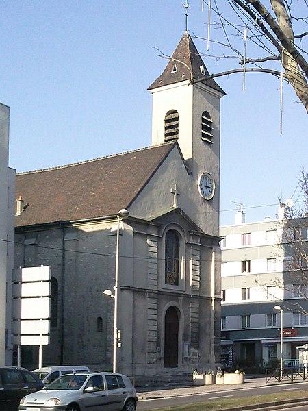 Photo du Monument Historique Eglise Saint-Nicolas situé à Bourget (Le)